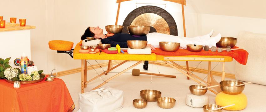 Peter Hess Klangmassage Setting