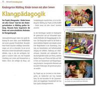 Pressebericht Kindergarten Mühling