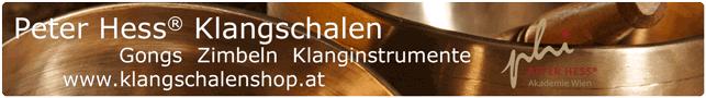 Peter Hess Klangschalen Gongs Zimbeln und Klanginstrumente im Klangschalen Shop